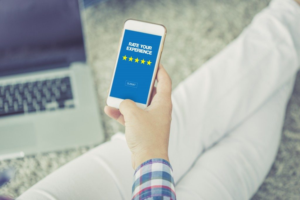 5-star customer satisfaction survey
