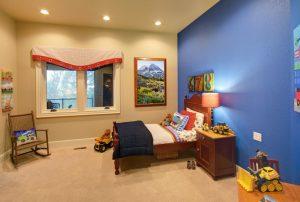 Kid's bedroom interior