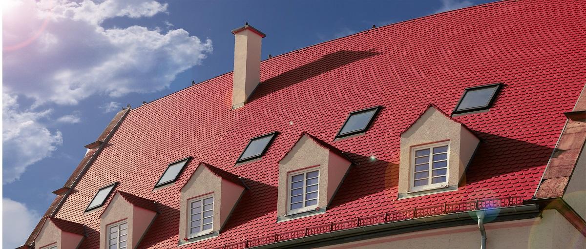dormer windows with skylights