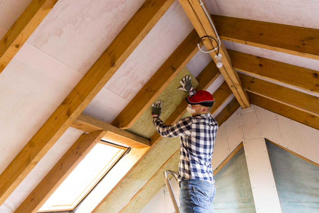 ceiling renovation