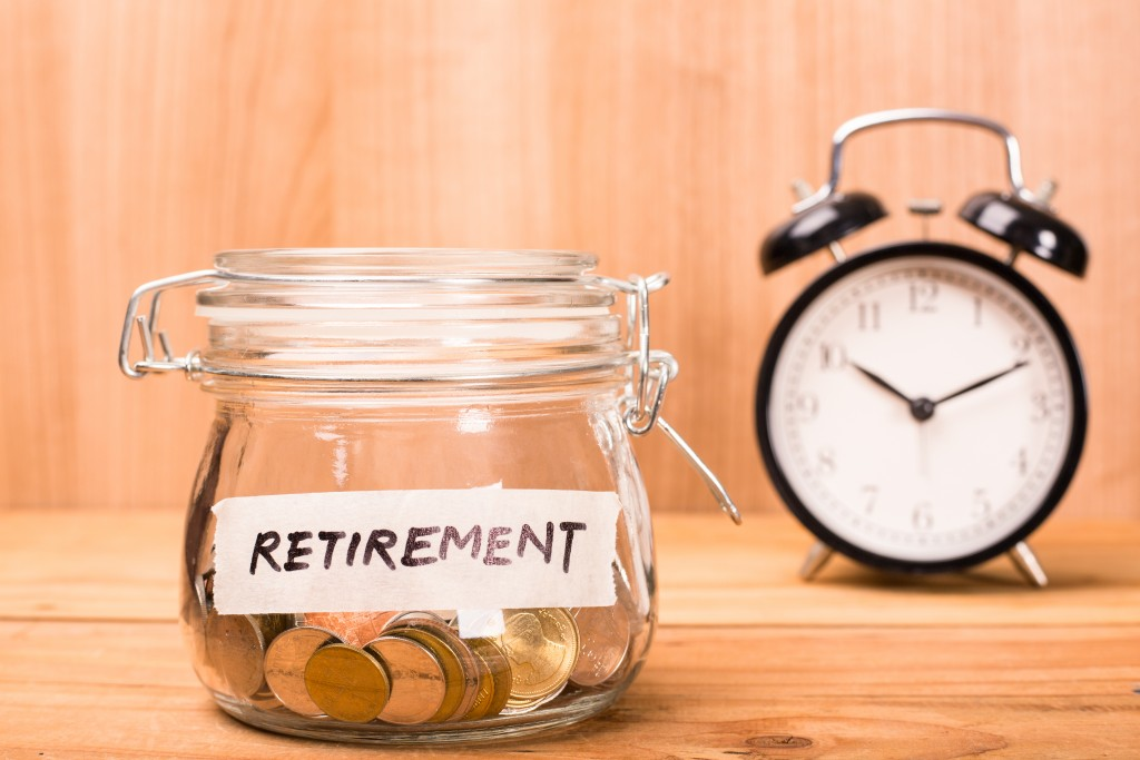 Save money fund retirement for pension your jobs.