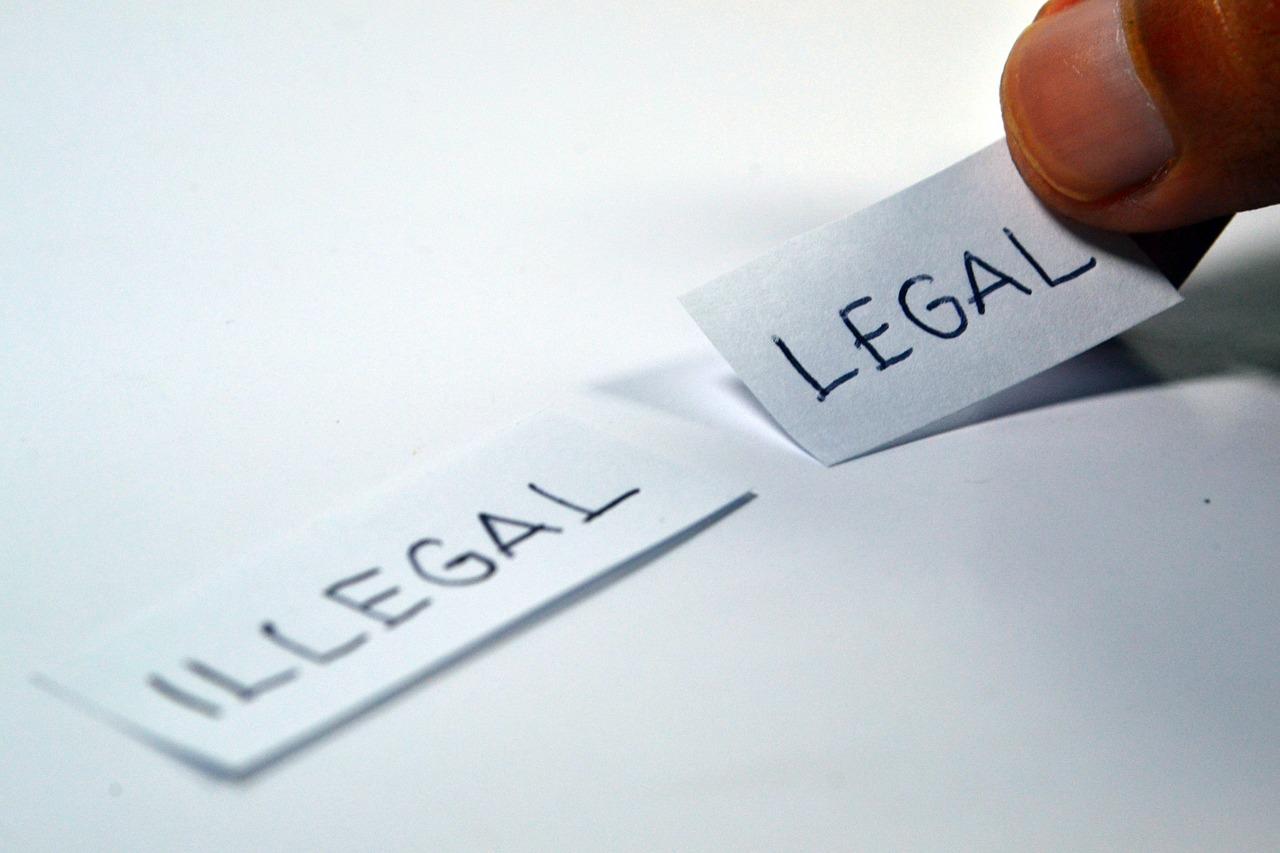 legal vs illegal