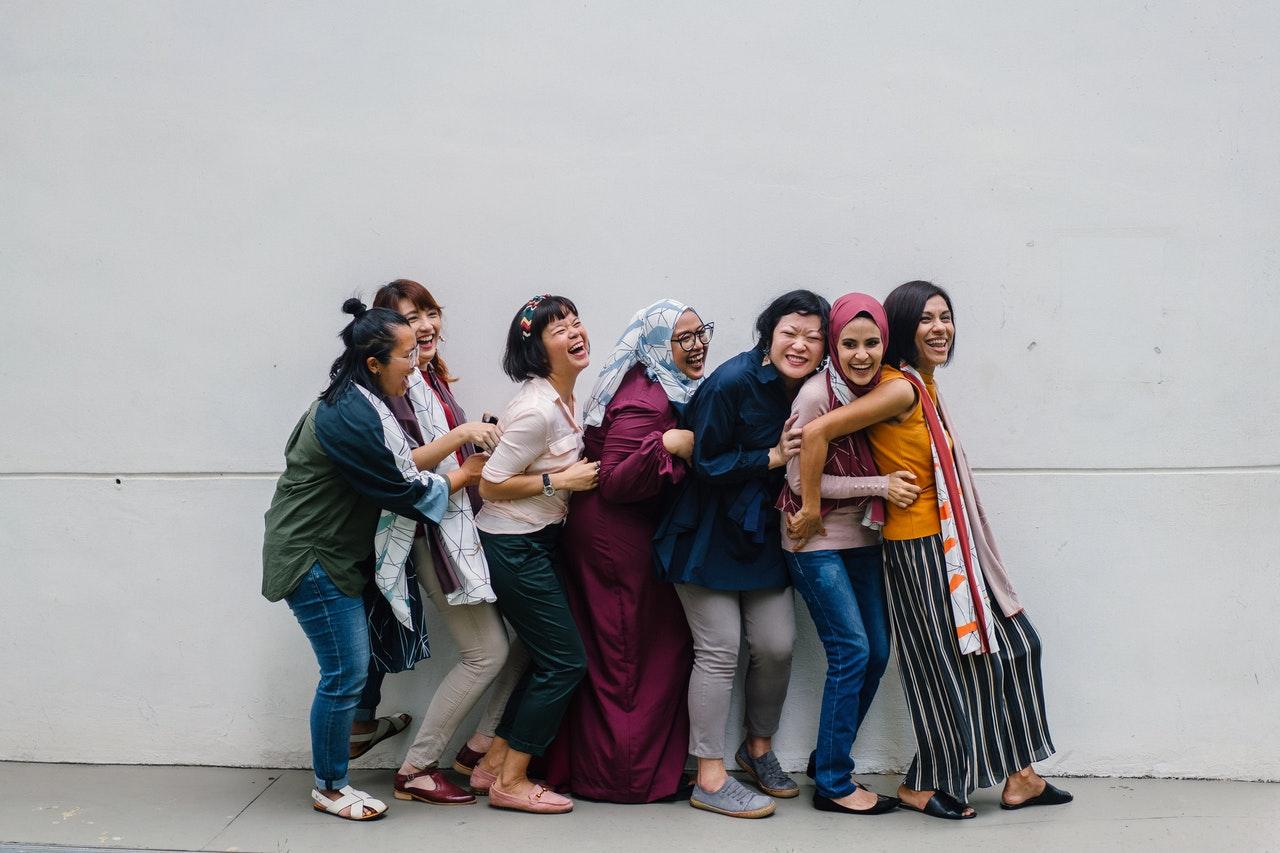 women diverse cultures